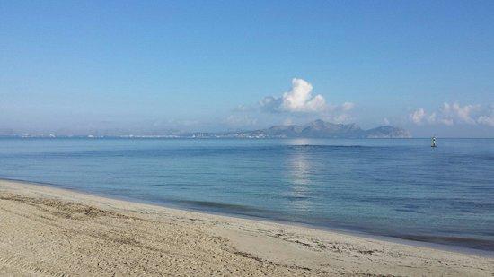 Hotel JS Miramar: Strand von Can Picafort