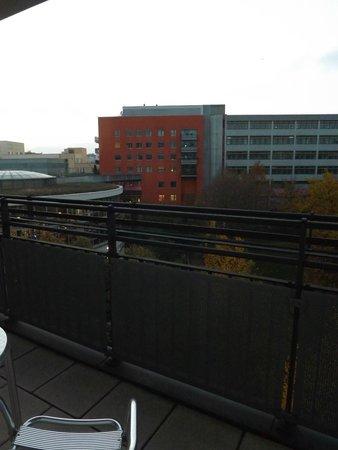 Hyperion Hotel Berlin: Blick vom Balkon
