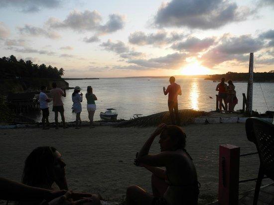 Tibau do Sul Beach : sunset, por de sol, tibau do sul