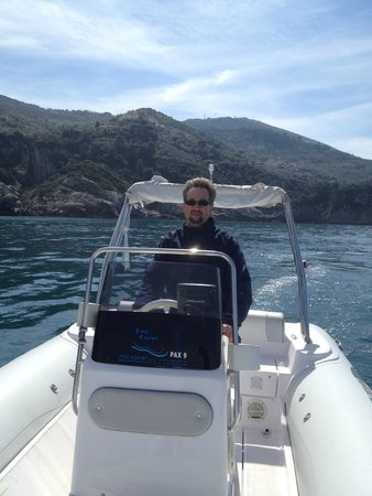 You Know! - Boat Excursions & Service: Self drive boat tour along Amalfi coast...a must!!