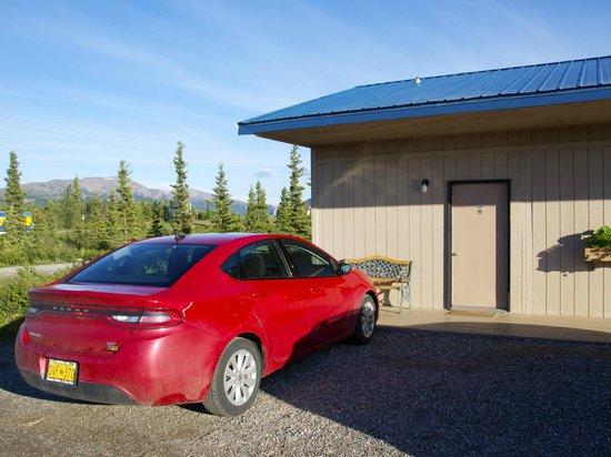 Хили, Аляска: Zimmer von aussen