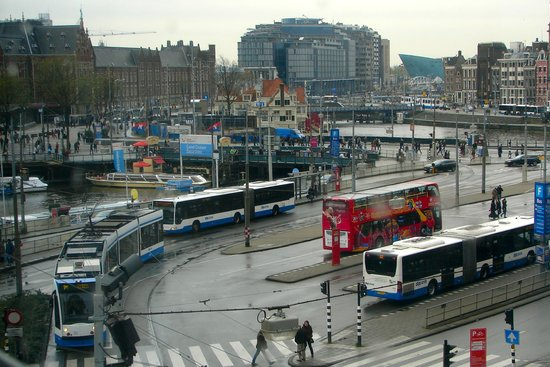 Centraal Station Taken From Room Picture Of Ibis