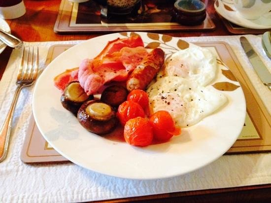 Sherwood Glen Guest House: what a great start to the day
