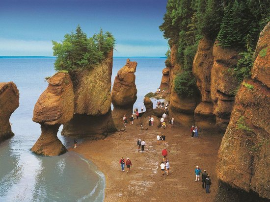 ‪‪New Brunswick‬, كندا: Hopewell Rocks‬