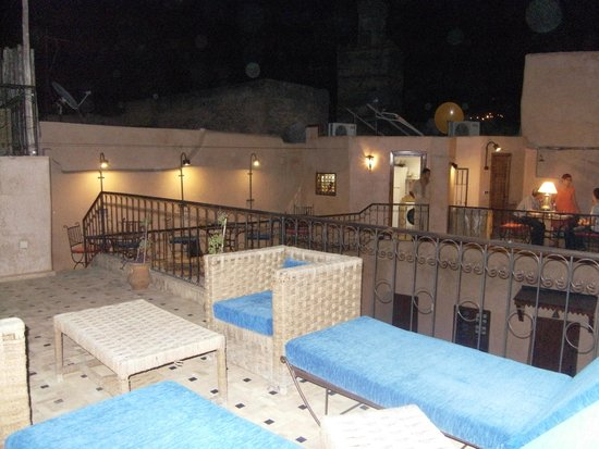 Dar Faracha Fes: Les terrasses