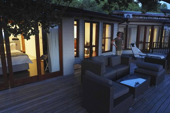 Grootbos Garden Lodge: Terrace of the room