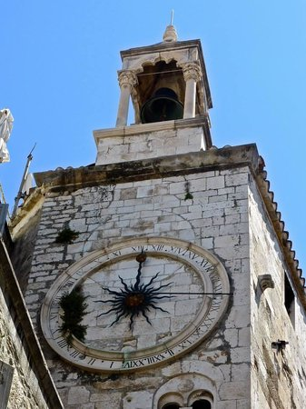 City Clock with the Roman Numerals