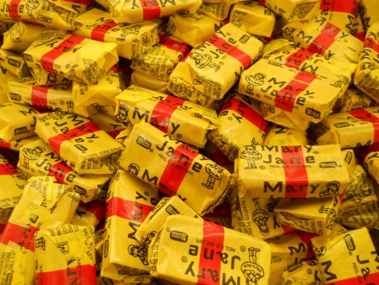 Mast General Store : old-fashioned candy galore