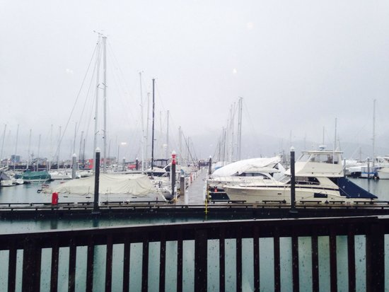 Chinooks Waterfront Restaurant: The view from our table