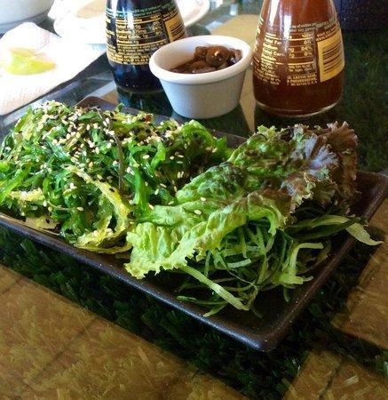 Wazaaabi Sushi House: Ensalada Seaweed