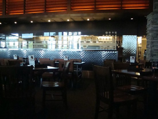 Houlihan's: Kitchen Area From Dining Room