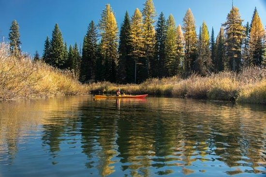 Seeley Lake, MT: paddling the clearwater canoe trail