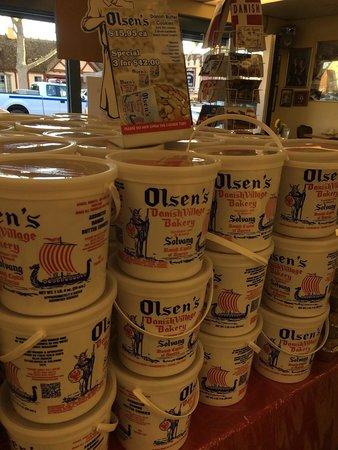 Olsen's Danish Village Bakery: Delicious cookies