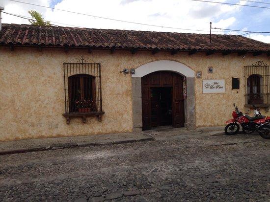 Hotel Los Pasos : Fachada