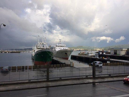 Hotel Eurostars Mar de Vigo: Vista