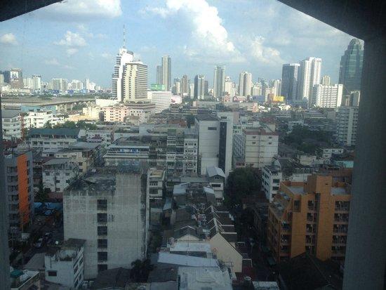 Indra Regent Hotel: Вид из номера