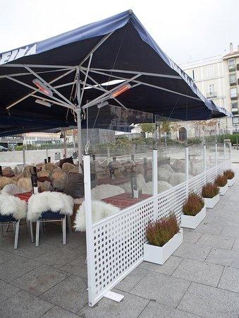 Terraza De Invierno Madrid Fotografía De Terraza De La