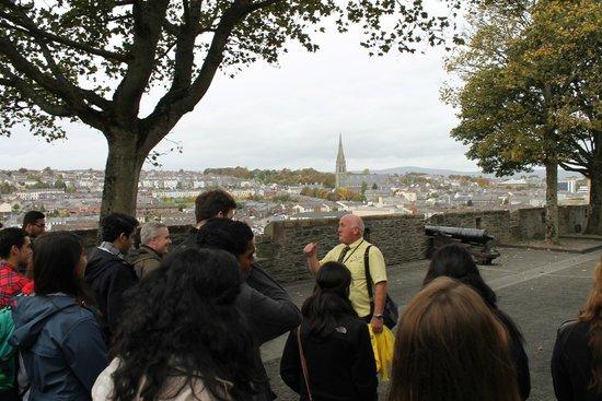 Visit Derry - Visitor Information Centre: Our guide Garvin