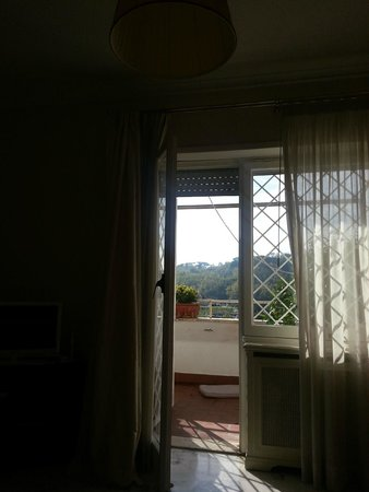 Il Papale B&B: View outside of door
