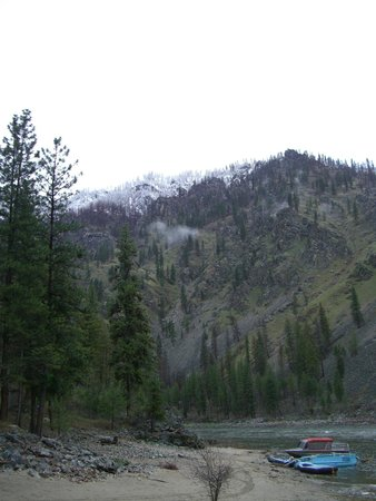 Salmon River: Typical scenery
