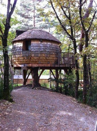 La Cachette: la cabane de Lily