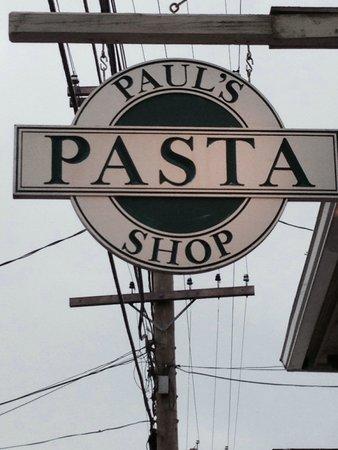 Paul's Pasta Shop: Paul's