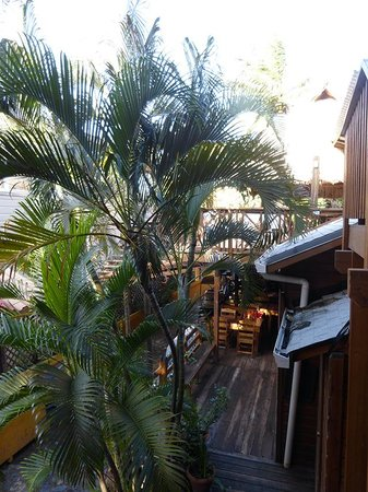 Sea Breeze Inn: view from room no 7