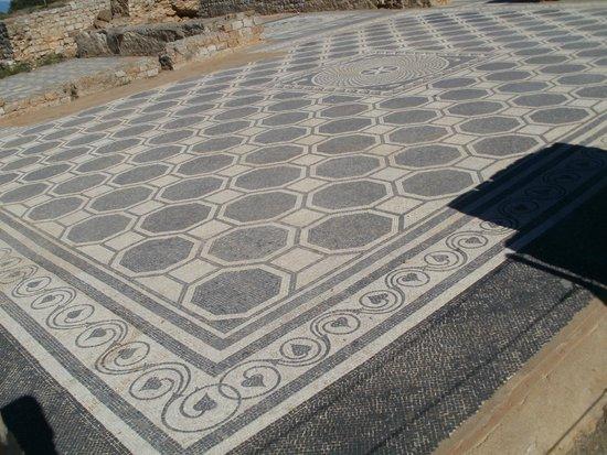 Ruinas de Empuries: Mosaic floor