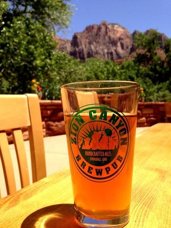 Zion Canyon Brew Pub: Zion Canyon Brewing Company-handcrafted beers
