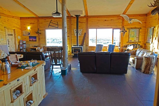 Seal River Heritage Lodge : Comfortable Lounge