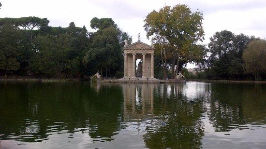 Residenza A: Villa Borghese park