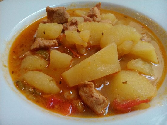 La Fusa: Patatas con carne
