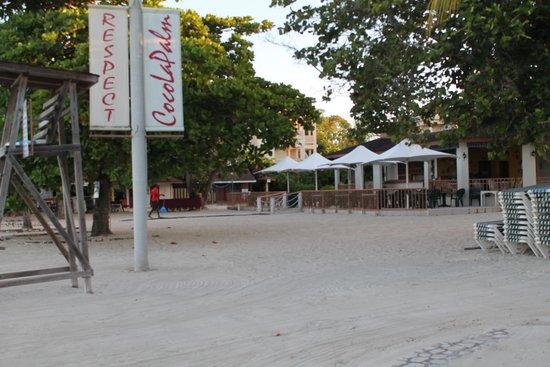 CocoLaPalm Resort: beachfront