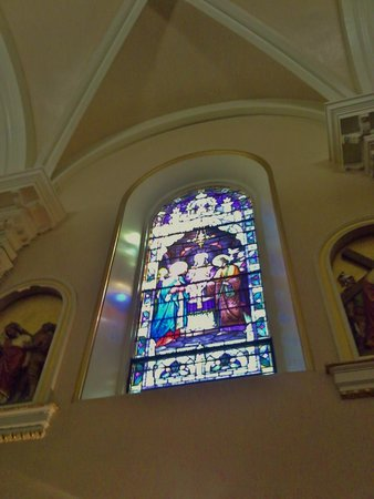 St. Mary's Basilica: Stained Glass.
