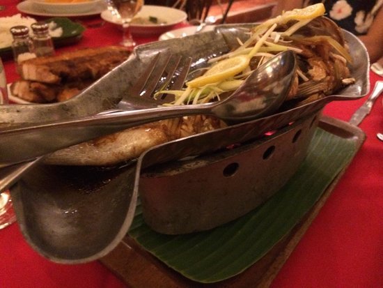 Zamboanga Restaurant : Steam fish