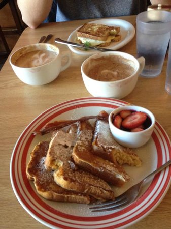 A Cup Of Cherries: Rum French Toast and French Toast Egg Sandwich
