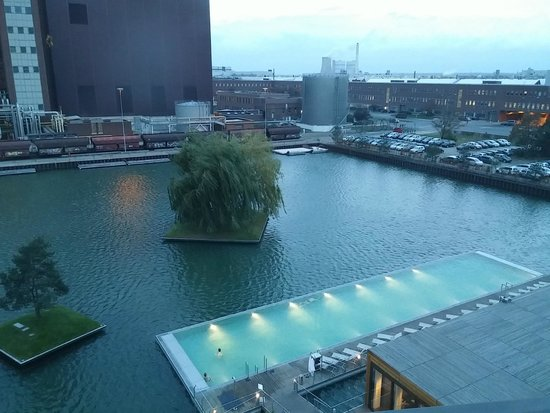 view of pool and vw factory picture of the ritz carlton wolfsburg wolfsburg tripadvisor. Black Bedroom Furniture Sets. Home Design Ideas