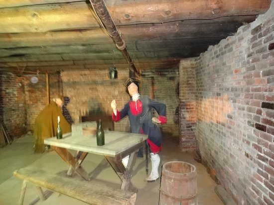 The Fort William Henry Museum & Restoration: Spine Tingles
