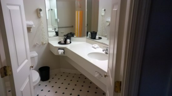 La Quinta Inn & Suites Tampa Brandon Regency Park: Bathroom