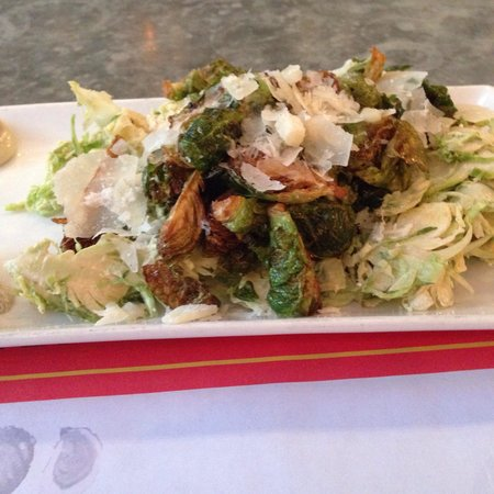 L & W Oyster Company: Brussel Sprouts Two Ways were truly memorable!