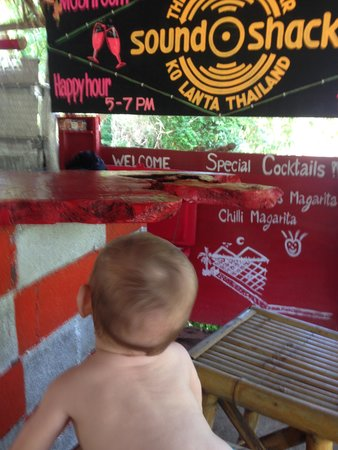 Blue Andaman Lanta Resort : Baby n Bar