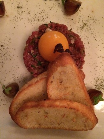 Beef tartare, one of my favourite dishes