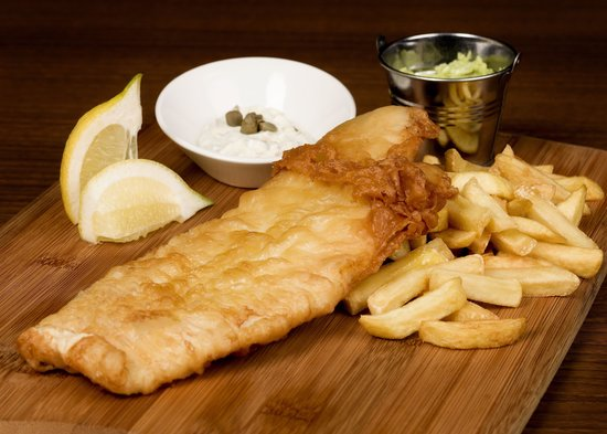 Fish chips picture of alvitos italian restaurant for Fish chips restaurant