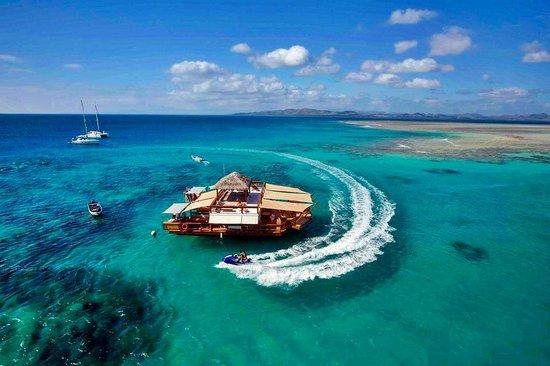 isla de Malolo, Fiyi: Cloud 9 arial