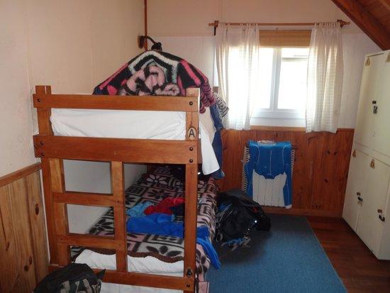 Patagonia Travellers' Hostel: quarto