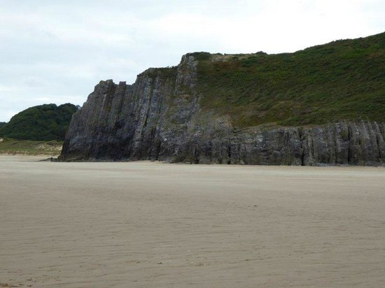 Gower Peninsula - Three cliffs bay
