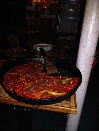 Burt's Place: The pizza