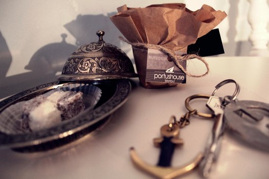 Portus House Istanbul: Welcome Gifts for Portus Guests
