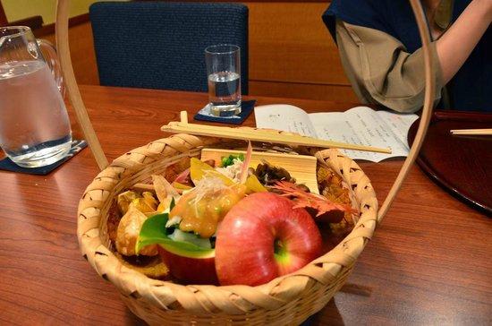 キノコの前菜数種 - 茅野市、た...