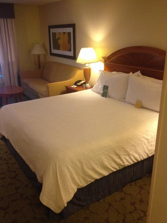 Hilton Garden Inn Gainesville: Very comfortable king size bed